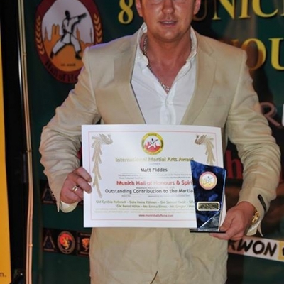 Matt Fiddes Europe hall of fame