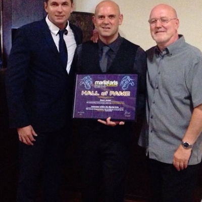 Matt Fiddes Steve James Hall of Fame
