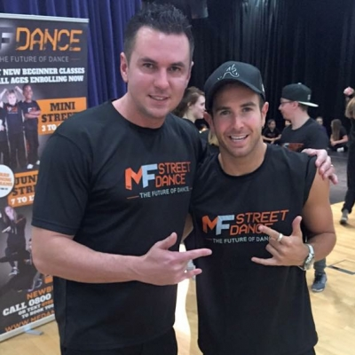 Matt Fiddes and Aaron Renfree
