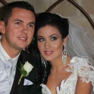 Matt Fiddes and Moniqe Fiddes wedding day