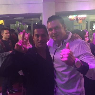 Matt Fiddes and Silvio Simac