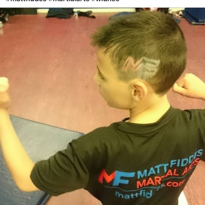 Matt Fiddes hair tattoo