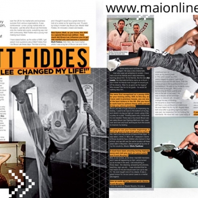 Matt Fiddes magazine