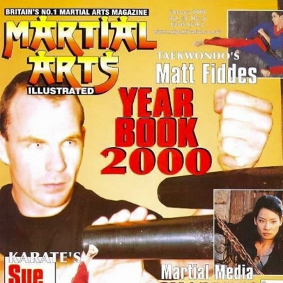 Matt Fiddes magazine cover