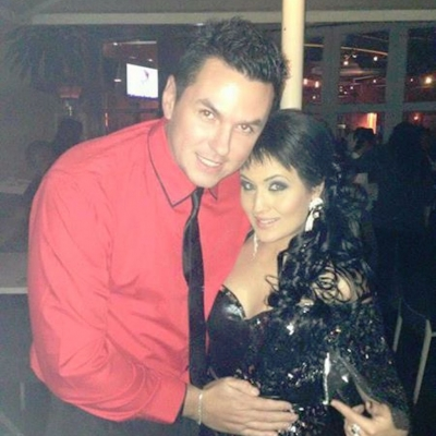 Matt Fiddes with Moniqe Fiddes
