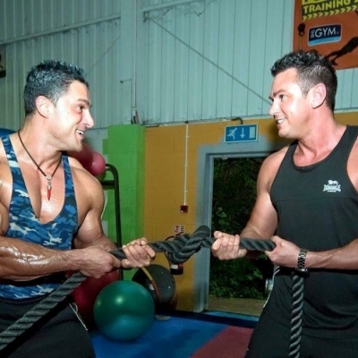 matt fiddes and silvio simac training